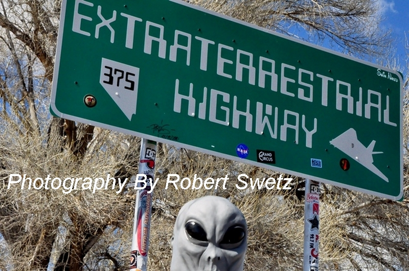 EXTRATERRESTRIAL Highway by Robert Swetz